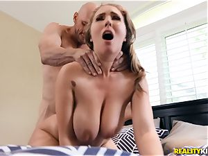 Lena Paul is wild and rides on top