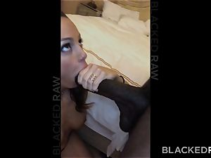 BLACKEDRAW Abigail Mac's hubby Sets Her Up With biggest bbc In The World