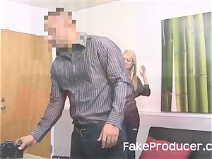 FakeProducer audition tiny blond cutie Chloe Foster