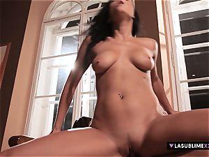 LASUBLIMEXXX Victoria Blaze has an powerful fuck-a-thon fantasy