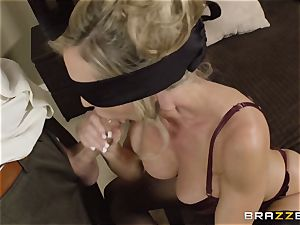 The spouse of Brandi love lets her penetrate a different fellow