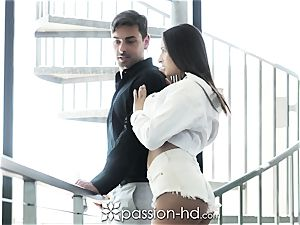 PASSION-HD Real Estate Agent plumbs Potential Buyer