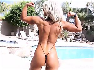 sexy fit milfs fuck stick outdoors for your firm manhood