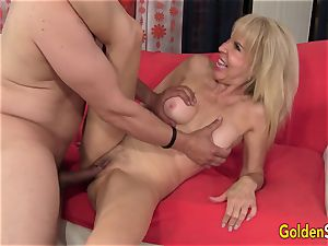 grannie Erica Lauren pussy Eaten n boinked