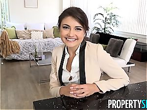 PropertySex Ridiculously super-fucking-hot Real Estate Agent penetrates Ex