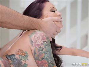 humble spouse sees his wifey Monique Alexander get butt-banged