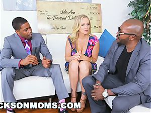 BLACKSONMOMS - Julia Ann Wins trio humungous prizes (xa15147)