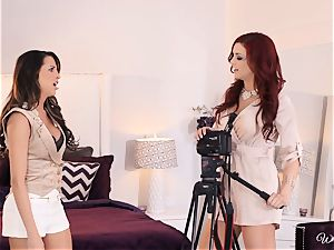 Jayden Cole seduces killer casting damsel Kortney Kane