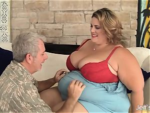 thick and wild bbw Erin Green xxx nail