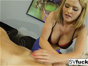 Sarah Vandella girly-girl massage