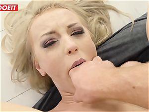 LETSDOEIT - steamy ash-blonde culo screwed hardcore by Stranger