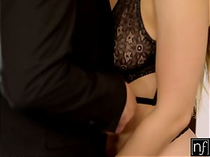NF buxomy- Lena Paul Surprises Her boss At Home S6:E11