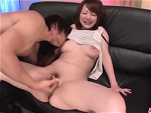 Arisa Araki awesome breasts play and home hookup in point of view