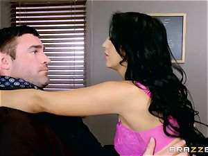 fuckfest craving student Valerie Kay plumbs the schoolteacher in the classroom