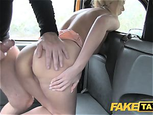faux cab sexy mum with big baps fellates shaft