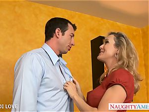 hotty blondie Brandi love drilling