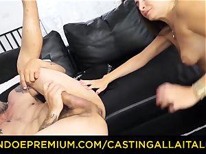 casting ALLA ITALIANA – nasty mummy loves moist ass fucking