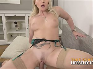 Kathia Nobili - huge-chested towheaded sated With fuck-stick