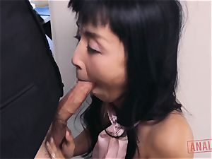 japanese honey Marica Hase hankers it up the butt hole