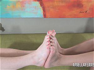 sole Fetish enjoyment With Ariella Ferrera