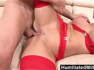 HumiliatedMilfs nasty assistant loves a phat fuckpole