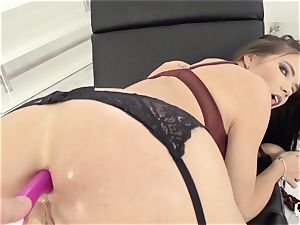 HER restrict - raunchy ass fucking poke with Russian Lovenia Lux