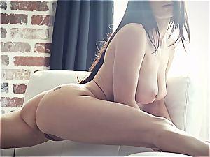 youthful pornographic star Lana Rhoades is epic
