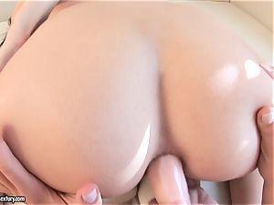 Victoria Tiffani slam booty ass-plug in her friend's caboose
