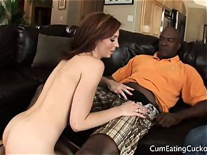 Billy Bats clean Up Riley timid Cuckolding