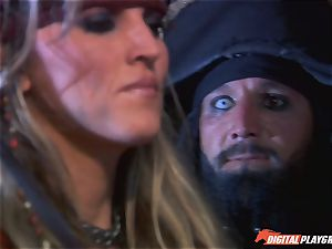 Pirate slips his thick chisel into sumptuous ash-blonde Jesse Jane