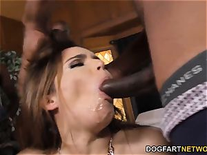 Natasha lovely bi-racial group sex bang-out