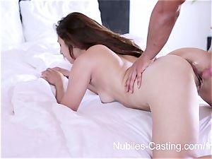 Nubiles audition - xxx porno casting for newcomer