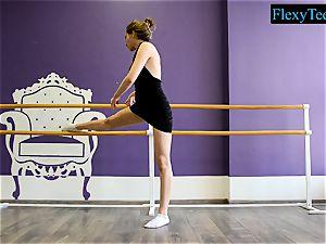 uber-sexy unexperienced ballerina
