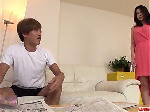 Ryu Enami epic home porn movie with bf