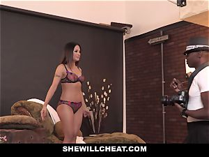 SheWillCheat - torrid asian wifey rode By big black cock