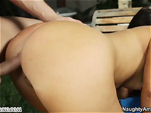 Arab doll college girl has sex with a european stud