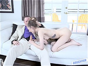 daughter-in-law exchanging shag with Samantha Hayes