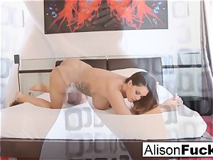Alison Tyler teases with her magic wand