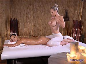 massage apartments spectacular dark-haired Amirah Adara