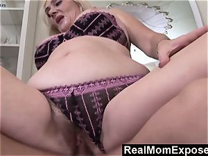 RealMomExposed Lascivious milf gets her slit inserted