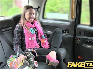 fake cab european chick pummeled with rock rigid prick facial cumshot