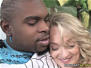 scanty dad witnesses Her daughter Kensey Knox Takes big black cock
