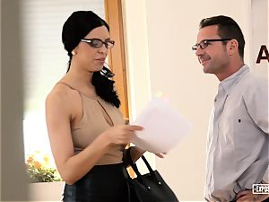 exposed casting - big-chested Russian babe pounded in casting