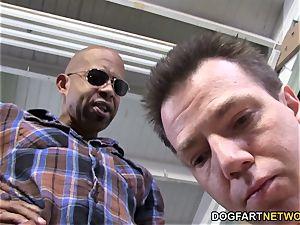 big black cock superslut Kagney Linn Karter abases cuckold