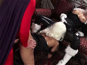 Vivid.com - trio super Villains have a insatiable threesome