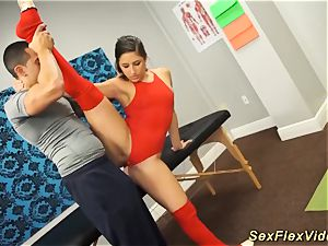 Flexi Bella Danger orgy gymnastic