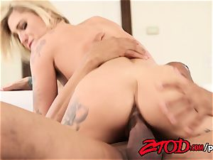 This is how Kleio Valentien and her stepbrother fight!