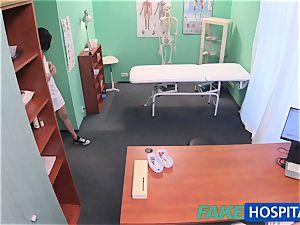 FakeHospital Minx deepthroats and tears up to get a job