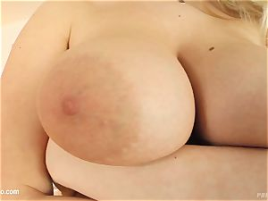 Prime cups introduces - Allysia superhot giant melon sweetie