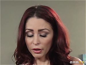 wifey Lezley Zen gets vengeance on mind-blowing masseuse Monique Alexander